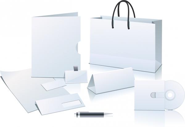 白地のパッケージ用品テンプレート enterprise application blank element