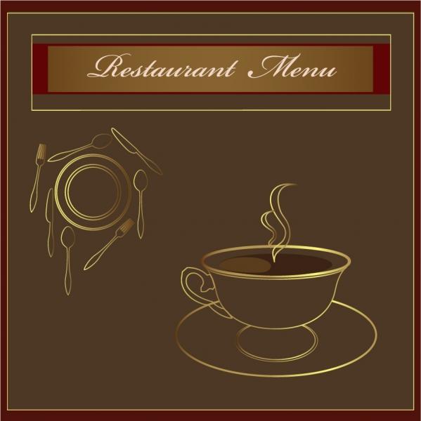 珈琲ショップの看板デザイン coffee signs heat pattern 5