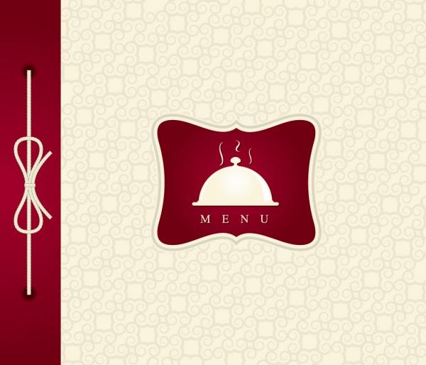レストラン メニュー 表紙デザイン restaurant menu cover vector5