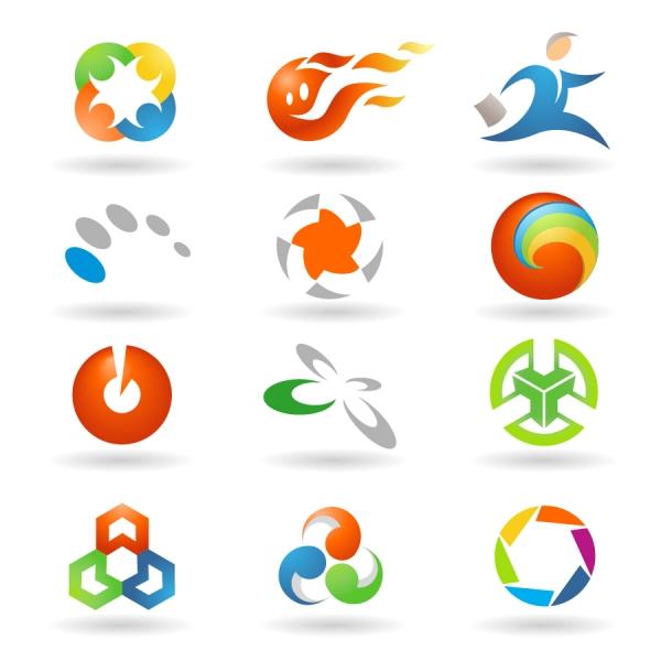 グラフィック ロゴ デザイン見本 variety of vector graphics logo2