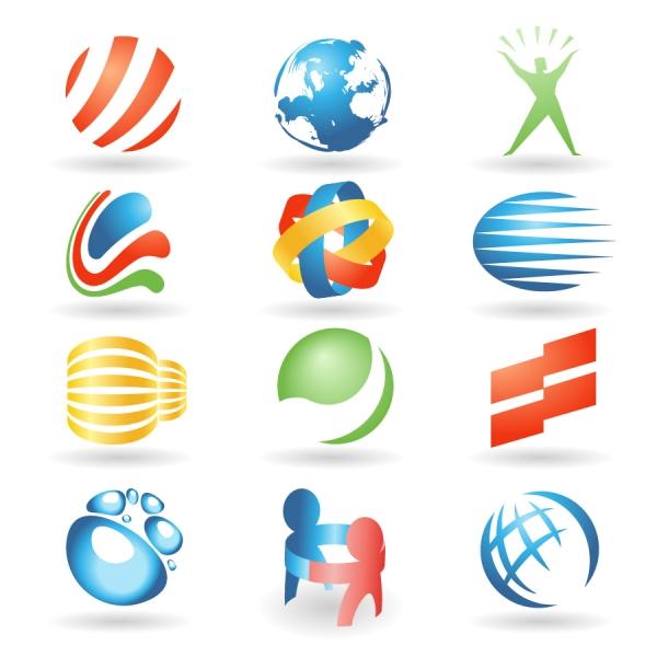 グラフィック ロゴ デザイン見本 variety of vector graphics logo4