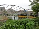 植物園らしき施設も