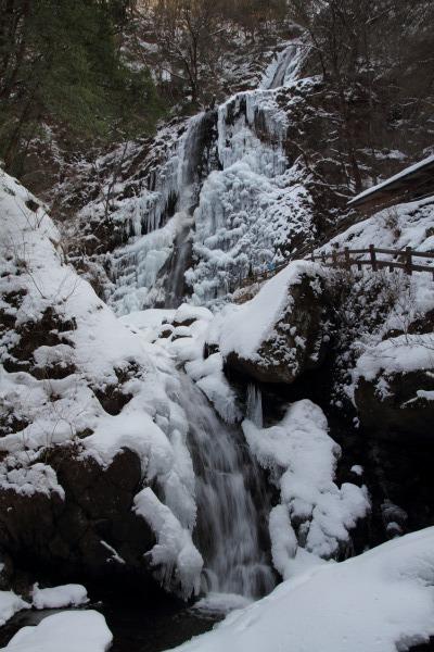 白猪の滝・氷瀑 140220 02