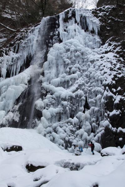 白猪の滝・氷瀑 140220 08