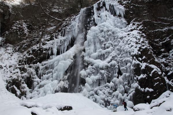 白猪の滝・氷瀑 140220 11