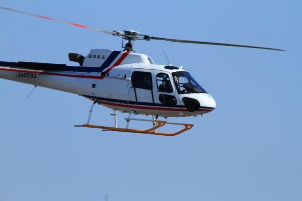 四国航空 AS350B3 JA6533 RJOM 140311 03