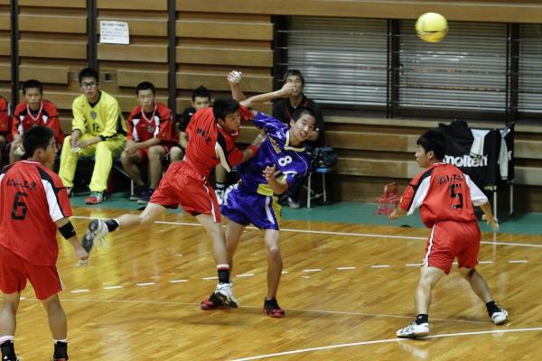 愛媛県高校総体ハント ゙ 1回戦 松工-吉田 140531 01