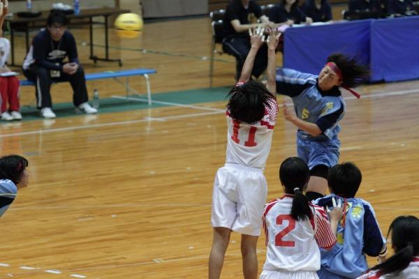 愛媛県高校総体ハント ゙女子決勝 今東-松東 1406021 01
