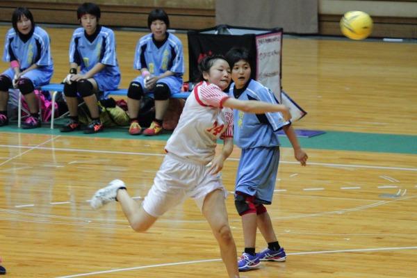愛媛県高校総体ハント ゙女子決勝 今東-松東 1406021 04