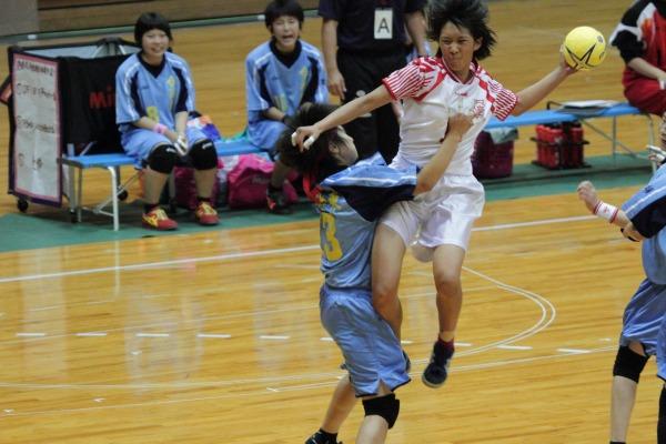 愛媛県高校総体ハント ゙女子決勝 今東-松東 1406021 05