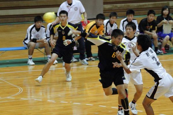 愛媛県高校総体ハント ゙決勝 松工-新田 140602 05