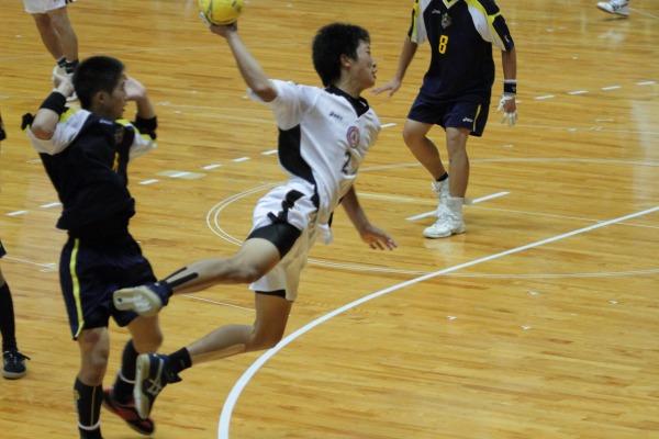 愛媛県高校総体ハント ゙決勝 松工-新田 140602 08