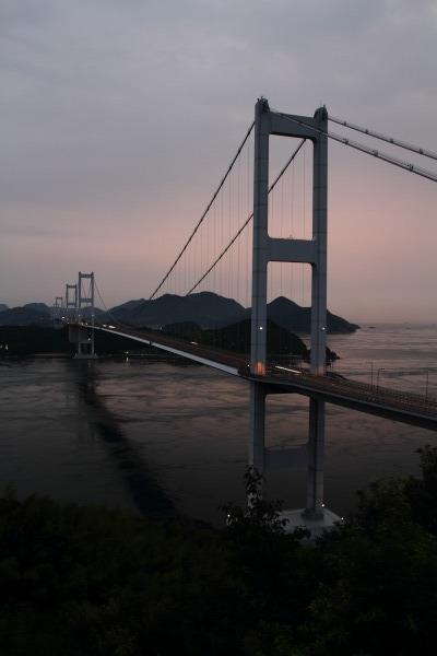 来島海峡大橋ライトアップ 140712 01