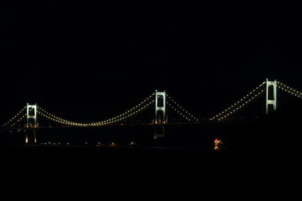 来島海峡大橋ライトアップ 140712 05