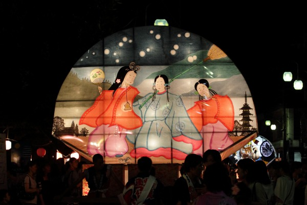 小田町村灯籠祭 140726 01