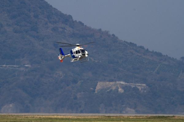 A.N.hericopter EC135-T2 JA34NH RJOM 140328 01