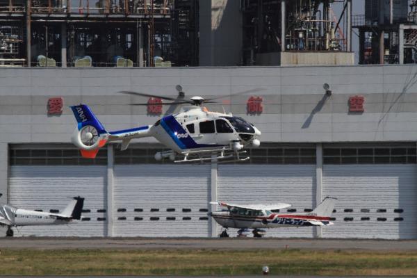 A.N.hericopter EC135-T2 JA34NH RJOM 140328 02