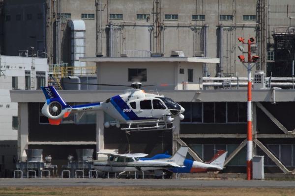 A.N.hericopter EC135-T2 JA34NH RJOM 140328 03