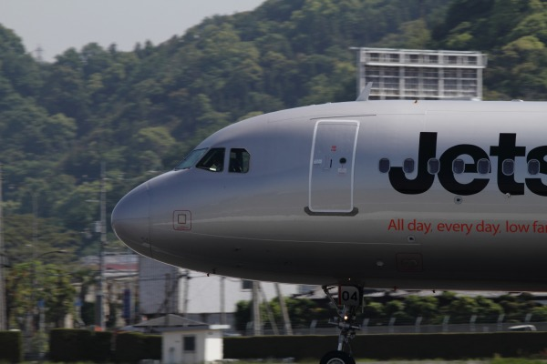 GK A320-232 JA04JJ RJOM 140511 02