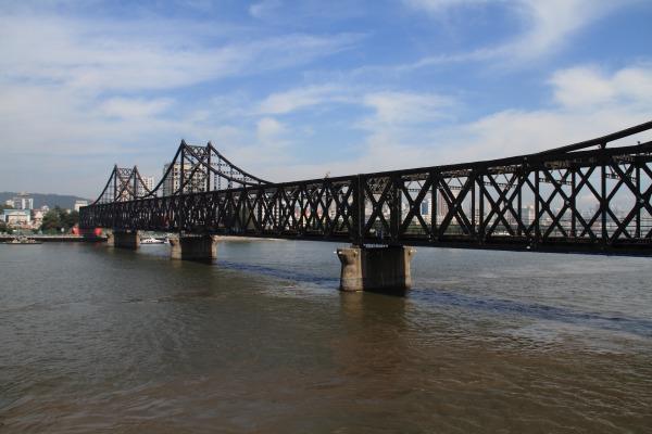 鴨緑江断橋 140828 07