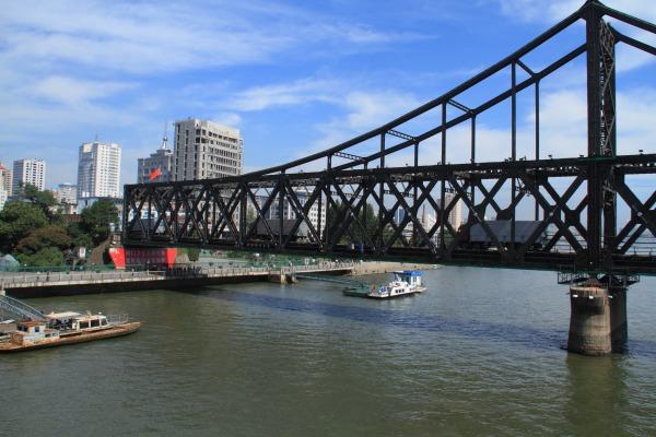 鴨緑江断橋 140828 11
