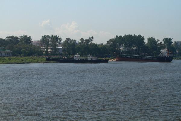 鴨緑江断橋・北朝鮮 140828 02