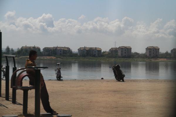 鴨緑江・北朝鮮国境 140828 01