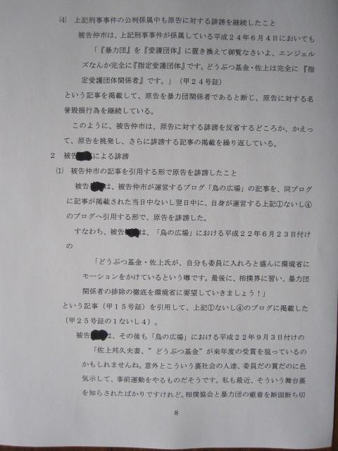 complaint 8