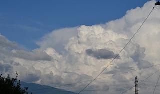8月19日入道雲