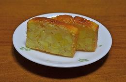 8月28日サツマイモケーキ