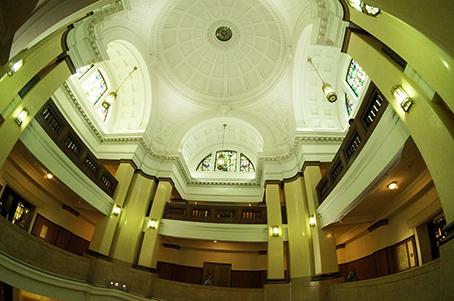 博物館天井