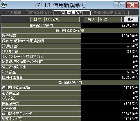 20140908_口座残高
