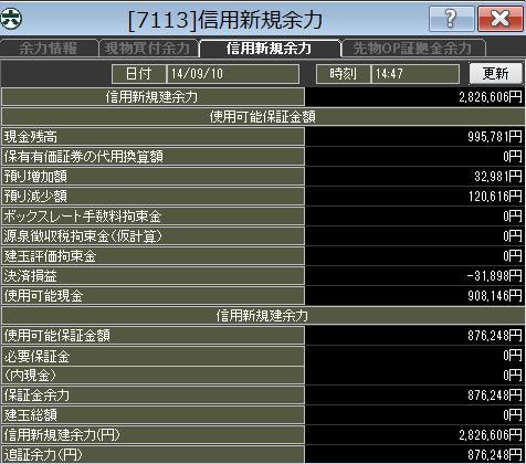 20140910_口座残高