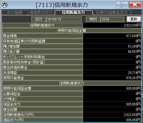 20140916_口座残高