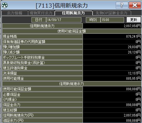 20140917_口座残高
