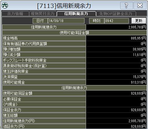 20140918_口座残高