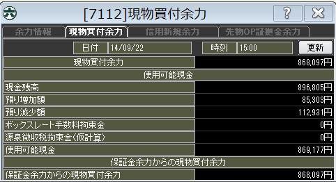 20140922_口座残高