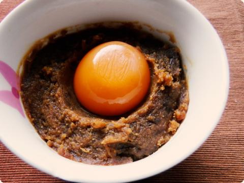 卵黄の味噌漬け1