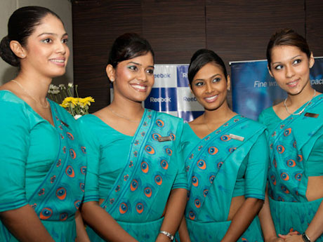 Image result for Tamil Air hostess in Srilankan airlines