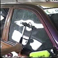 窓 車上荒らし
