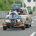バイク 牽引