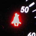 シートベルト警告灯