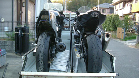 軽トラック バイク