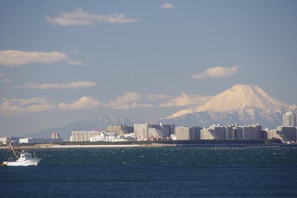 20131222茜浜からの風景
