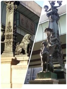 日本橋の像