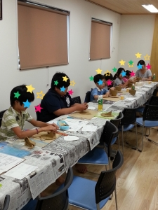 こども日時計体験教室4