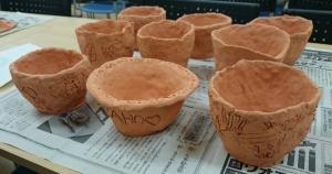 7・12日時計 植木鉢