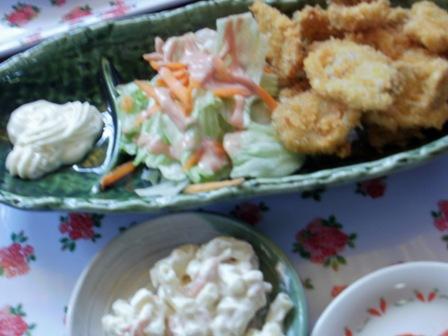 のりのり魚フライ定食