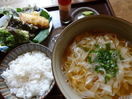 DSC06730 - きしめん定食