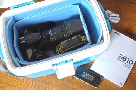 Nikonとケース